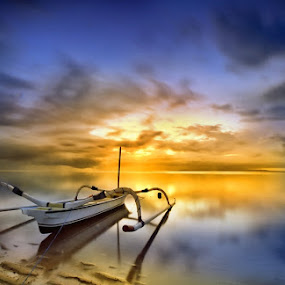 Sunrise by Herry Suwondo - Landscapes Waterscapes