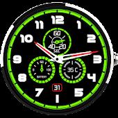 Download Glow Meter Watch Face Free APK on PC