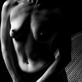 Sexy stockings by Jordan Morgans - Nudes & Boudoir Artistic Nude ( body, implied nude, nude, naked, bodies )