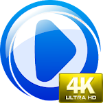 4K Video Player Ultra HD Free Icon