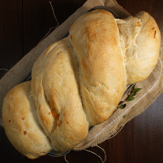 Cheddar and Garlic Potato Bread
