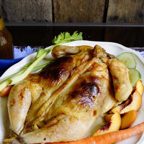 Rellenong Manok Stuffed Chicken for Christmas or Thanksgiving Filipino Roasted Chicken
