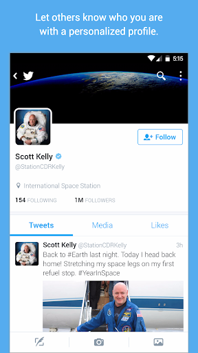 Twitter for Android TV screenshot 3