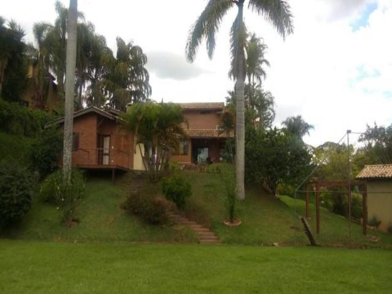 Lindo sobrado com 3 dormitórios, piscina, apartamento com suíte, sala três ambientes, à venda por R$ 1.400.000 - Condomínio Santa Fé - Vinhedo/SP