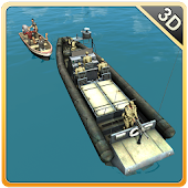 Download Android Game Army Boat Sea Border Patrol for Samsung