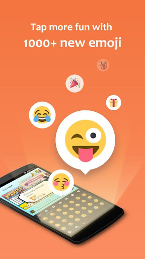 GO Keyboard - Emoticon keyboard, Free Theme, GIF screenshot 4