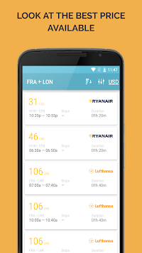 729 Airlines Cheap Flights APK screenshot thumbnail 3
