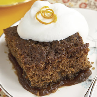 Gingerbread Orange Pudding Cake