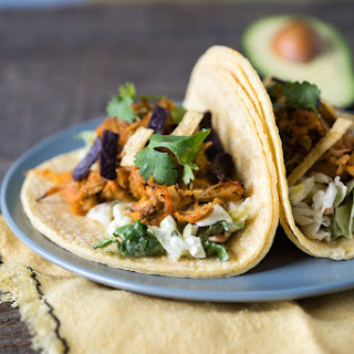 Easy Pulled Pork Tacos with Sneaky Sweet Potatoes