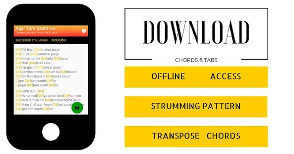DesiString-Hindi Chords & Tabs - screenshot