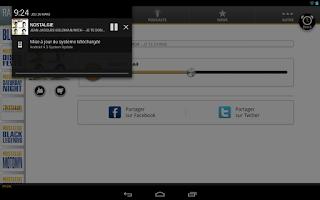 Screenshot of Nostalgie Tablette