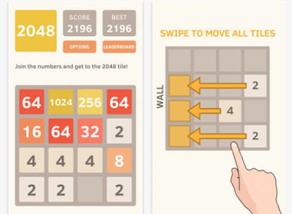 2048 Strategy Puzzle 2017 - screenshot