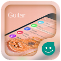 KK SMS Guitar Dream Theme APK for Bluestacks
