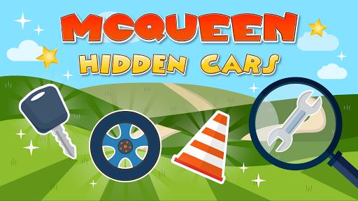 Mcqueen hidden cars