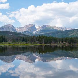 Longs Peak reflection by Scott Hull - Novices Only Landscapes