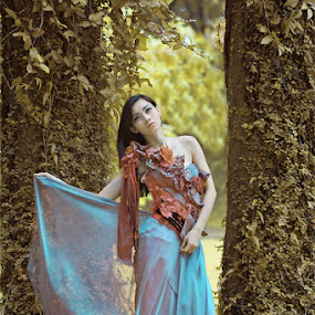 K Karina K by Saia Puguh - People Portraits of Women ( models, potrait, fashion, model, girl, infrared, jakarta, beauty )