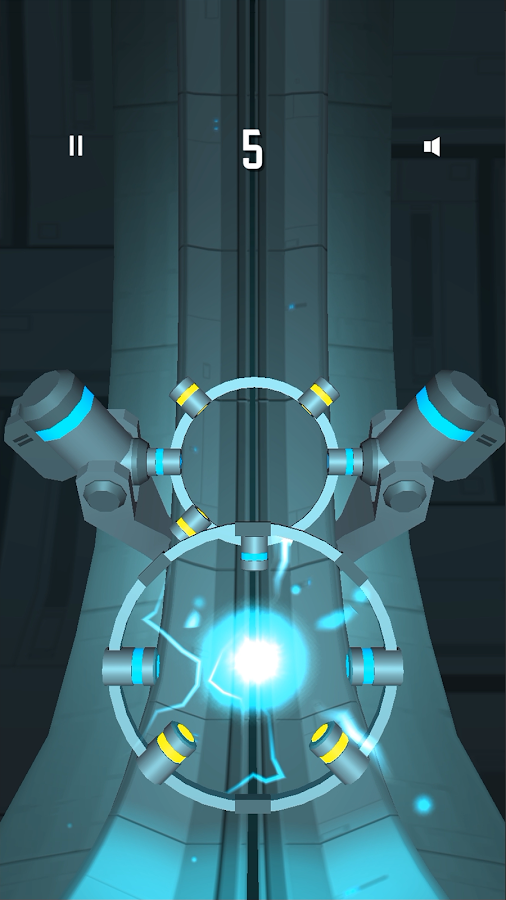 Spin Reactor: Fast Reaction Puzzle Game Screenshot