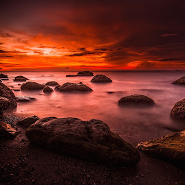 Stillness in Time by Jerry ME Tanigue - Landscapes Sunsets & Sunrises