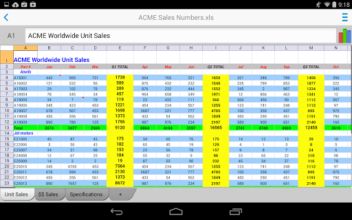Docs To Go™ Free Office Suite screenshot 19