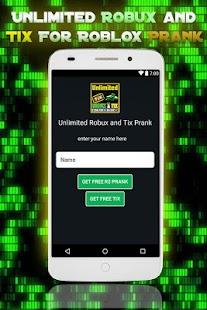Unbegrenzte Robux und Tix Für Roblox Simulator android apps download