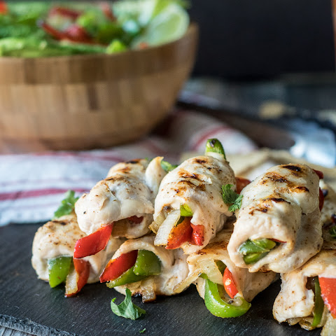 Chicken Fajita Roll Ups