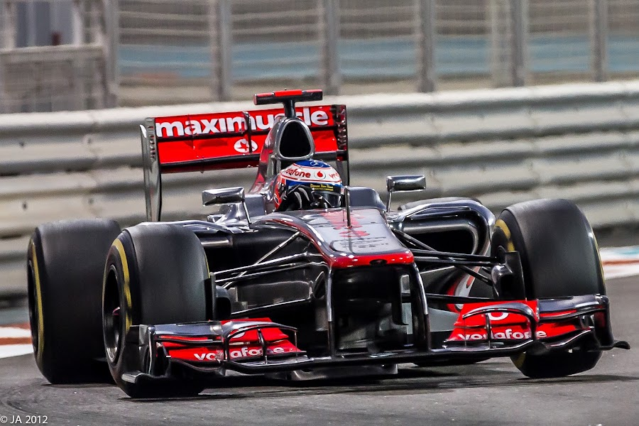 Jenson Button by Jaideep Abraham - Sports & Fitness Motorsports ( abu dhabi, mclaren mercedes, jenson button, formula 1 2012 )