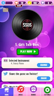 Piano Tiles - 1D and 5SOS