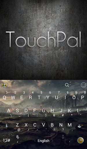 Dark World Land Keyboard Theme - screenshot