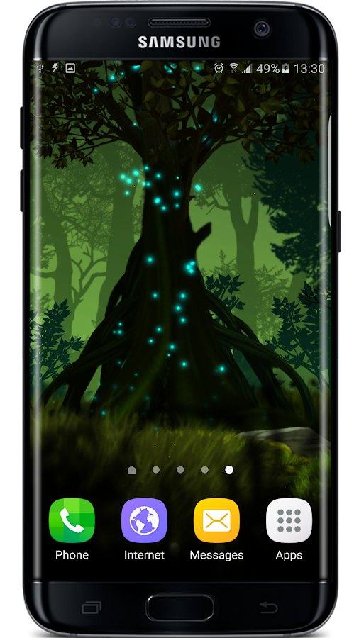 Firefly Forest Live Wallpaper Screenshot 7