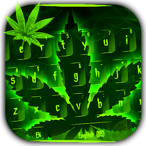 Weed Rasta Keyboard Theme For PC