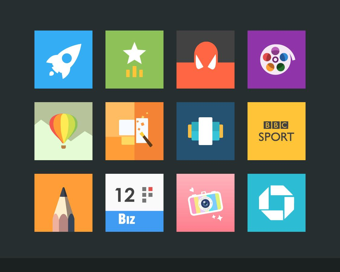 Flatout Minimal IconPack Theme Screenshot 10