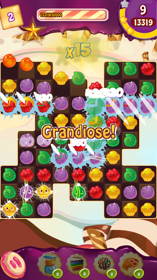 Cupcake Smash: Cookie Charms Screenshot 0