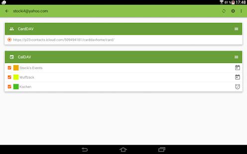 DAVdroid – CalDAV/CardDAV Sync v1.2-gplay Apk