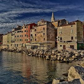 city of Rovinj, Istria, Croatia by Manuel Zoričić - City,  Street & Park  Skylines ( manuel zoričić )