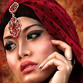 Hijab by Surya Hidayat HB - Digital Art People