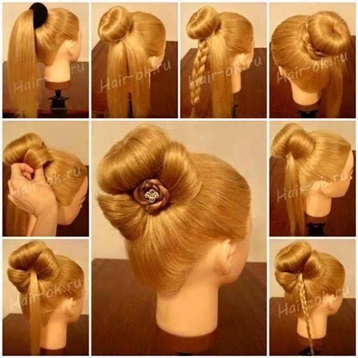Простые вечерние прически для длинных волос пошагово