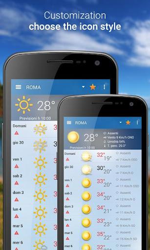 3B Meteo - Weather Forecasts - screenshot