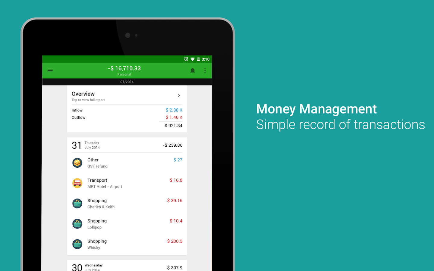 Money Lover: Budget, Expense, Bill, Finance & Save Screenshot 16