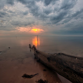 Cloudy Morning by Andi Appa - Landscapes Sunsets & Sunrises