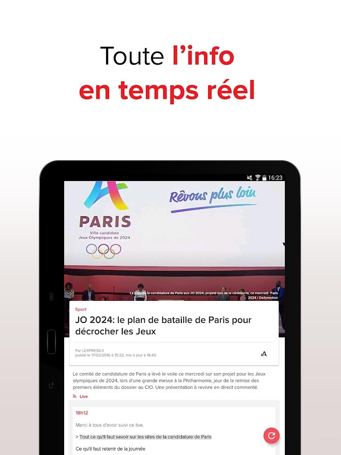 L'Express : l'actu en continu Screenshot 12