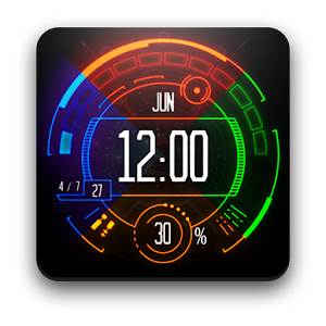 Watch Face: Neon