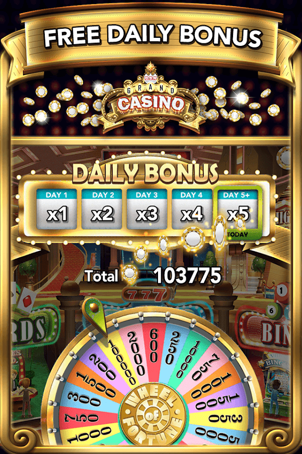 GSN Grand Casino - FREE Slots Screenshot 1