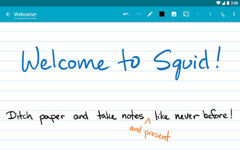 Free Squid - Take Notes & Markup PDFs APK for Windows 8
