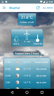 Breaking News & Weather - screenshot