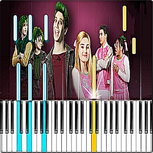 Disney's Zombies - Someday Piano Game For PC / Windows 7/8/10 / Mac – Free Download
