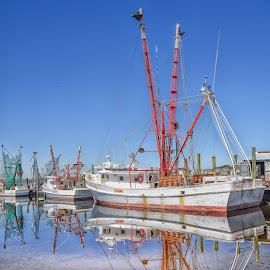by Gladys Buzzell - Transportation Boats