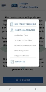FitRight Product Selector