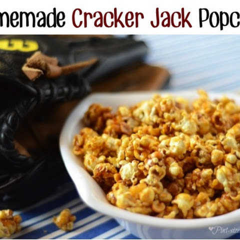 Homemade Cracker Jack Popcorn
