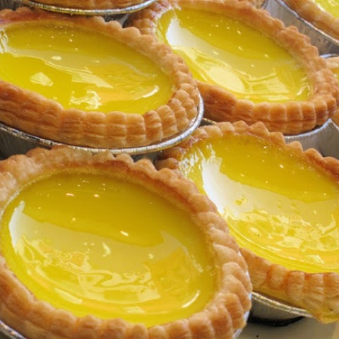 Easy Egg Custard Tarts #PastryRecipesWorldwide
