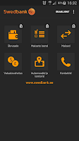 Screenshot of Swedbank Eestis